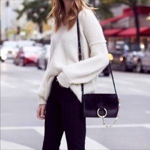 Sam Edelman | Ivory Knit Chunky Sweater S